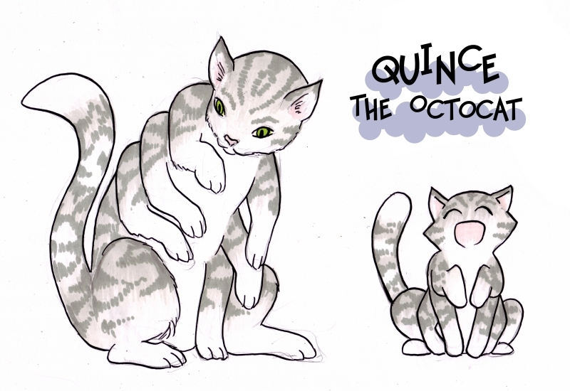 Quince the Octocat